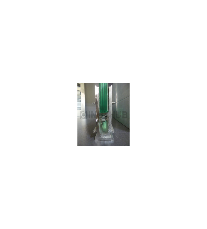 Набор зажимного профиля Т44 6000мм без крышек, стекло 8.0-12.0мм