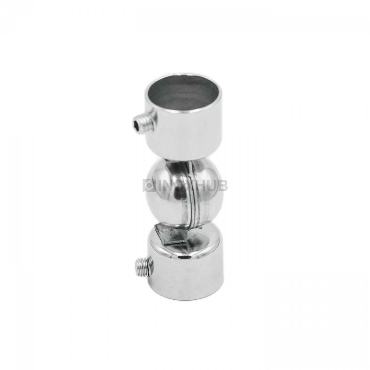 Поворот штамп. шаровой внешний Ø16.0 мм, AISI 304, GRIT 600