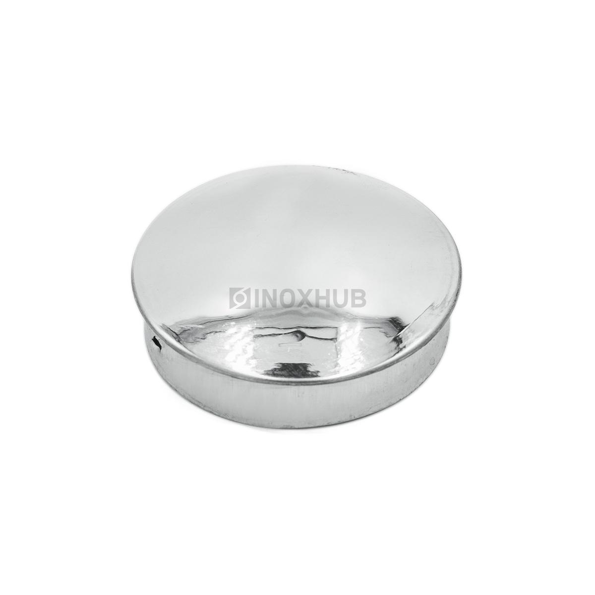 Заглушка забивная штамп., Ø50.8 мм, AISI 304, GRIT 600