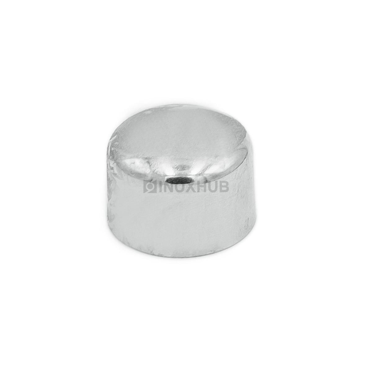 Заглушка внешняя штамп. Ø12.0 мм AISI 304 GRIT 600