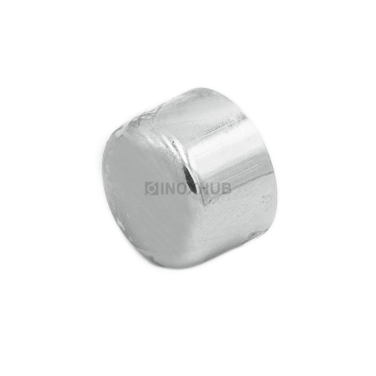 Заглушка внешняя штамп., Ø12.0 мм, AISI 304, GRIT 600