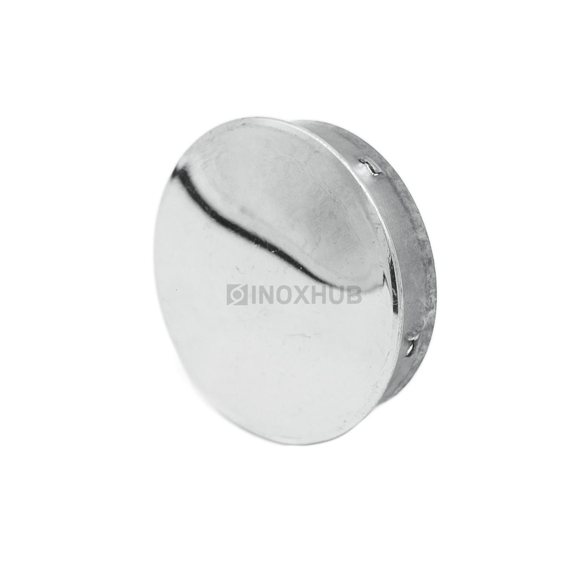 Заглушка забивная штамп., Ø38.1 мм, AISI 201, GRIT 600
