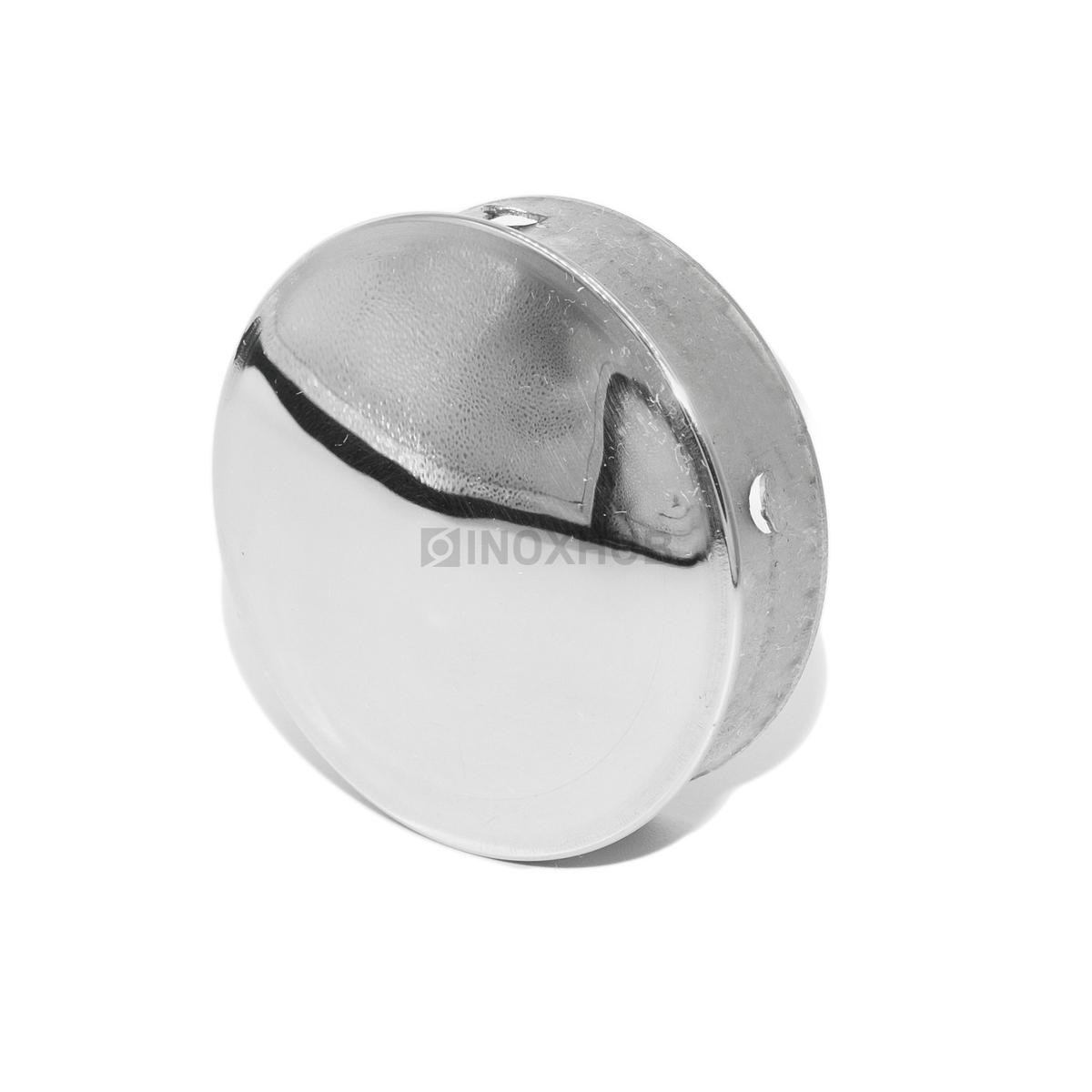 Заглушка забивная штамп., Ø50.8 мм, AISI 201, GRIT 600