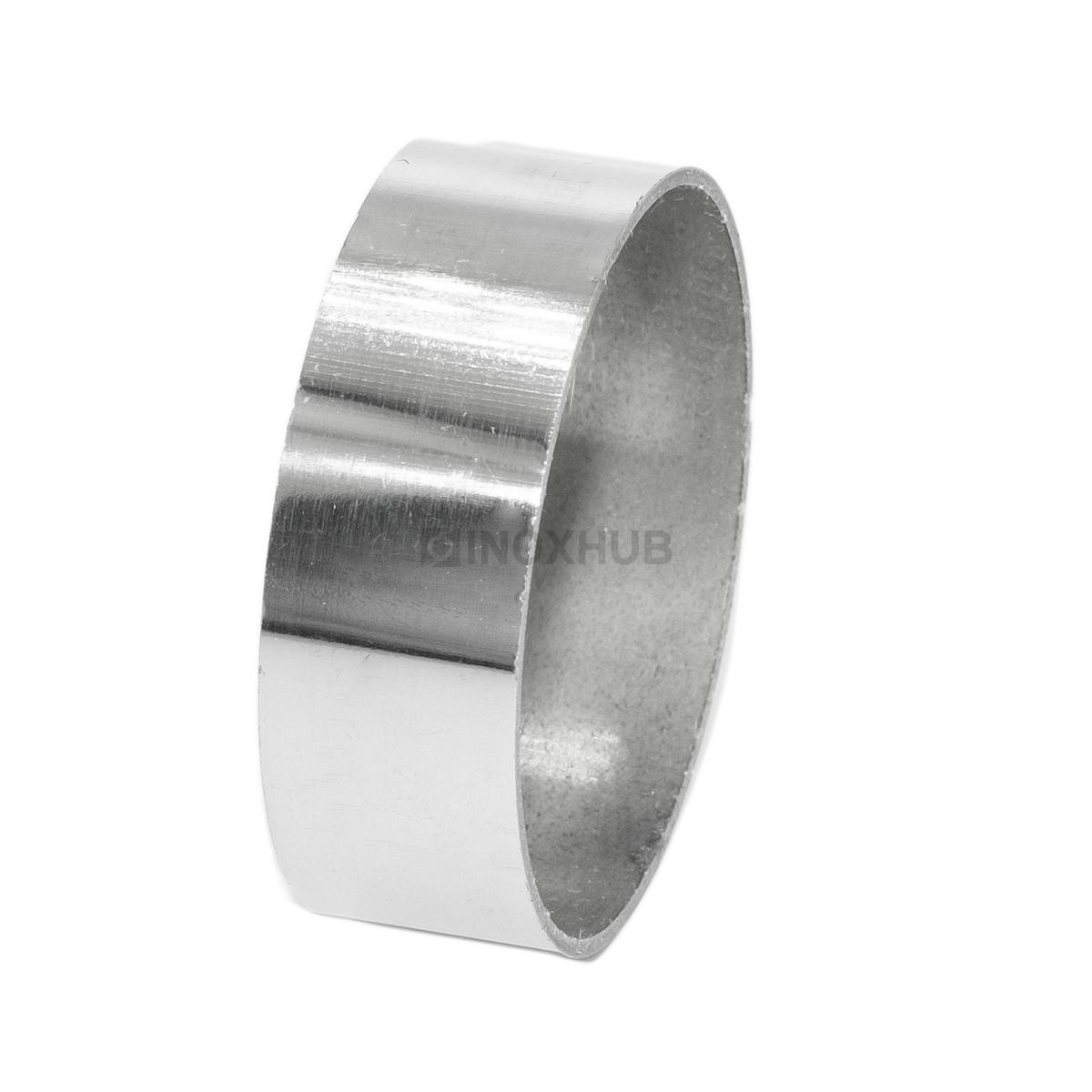 Соединительное кольцо Ø42.4 мм, AISI 304, GRIT 600