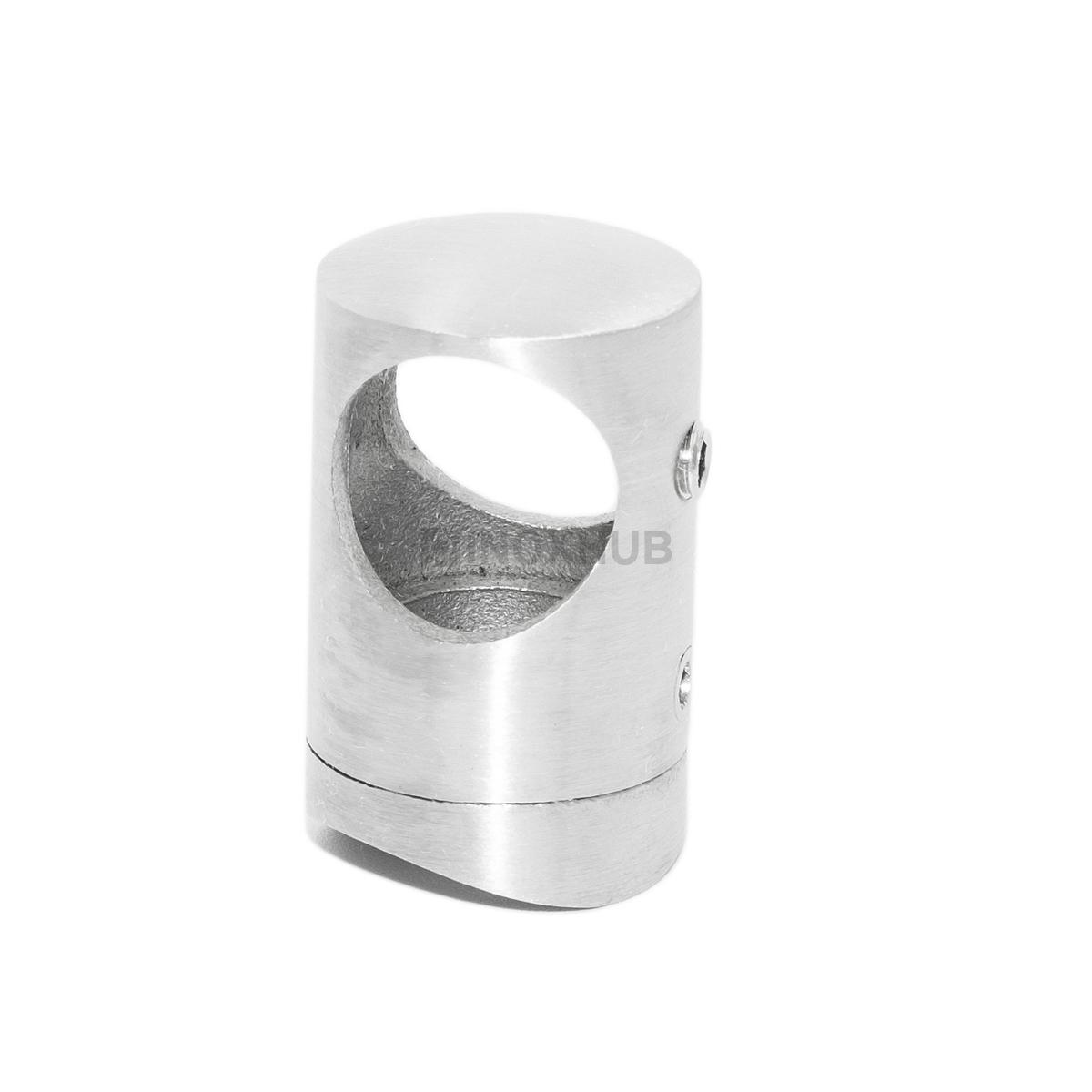 Держатель ригеля ⌀16 мм на стойку ⌀38.1 мм, AISI 304, Grit 320