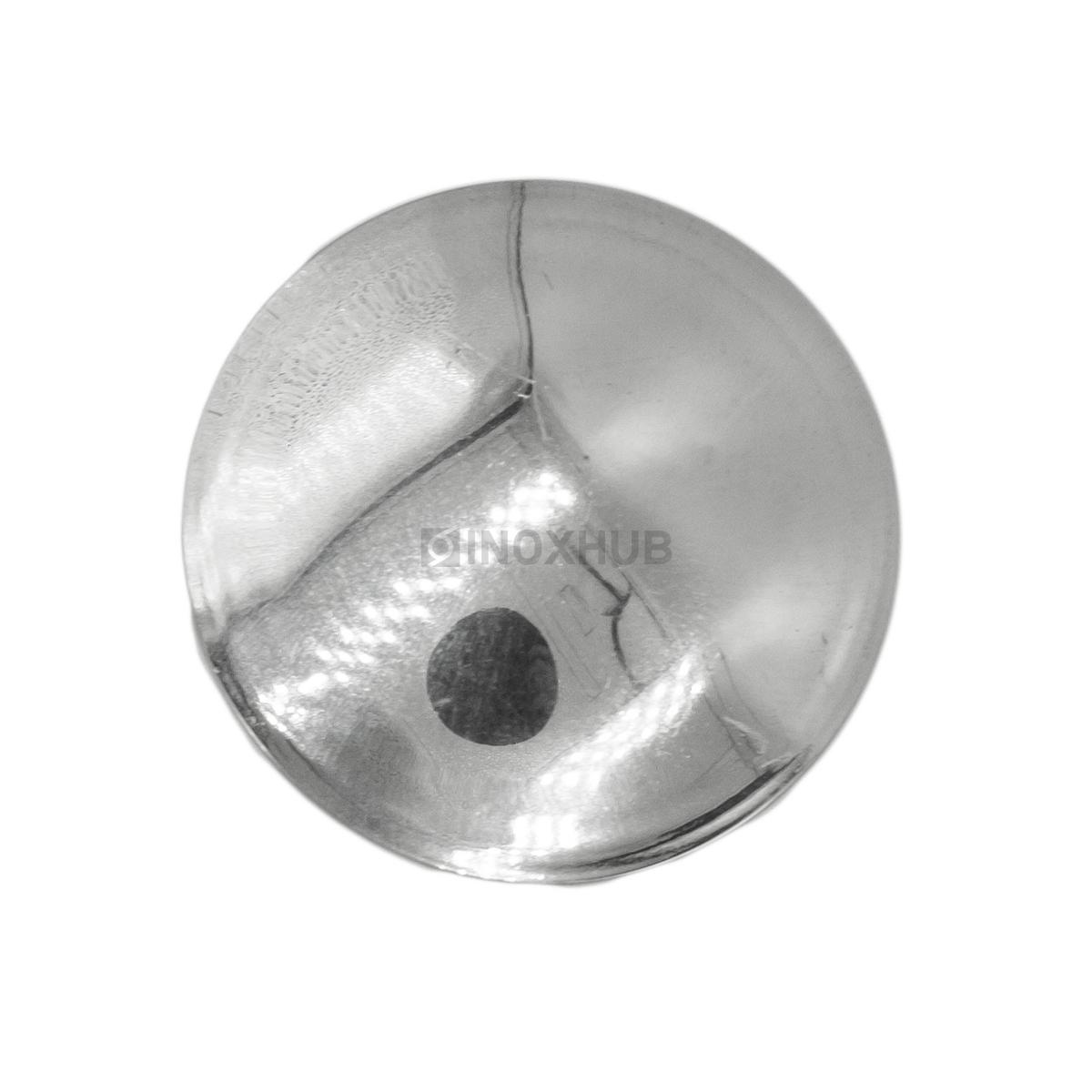 Заглушка забивная штамп.  Ø38.1 мм AISI 316 GRIT 600