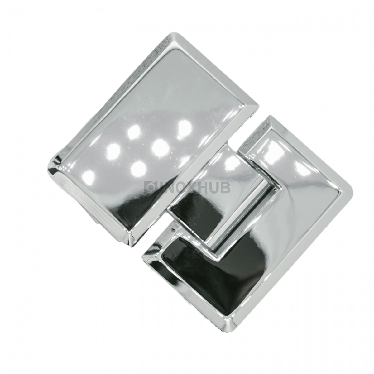 Петля (303 PC) стекло-стекло 180°, хром полированный