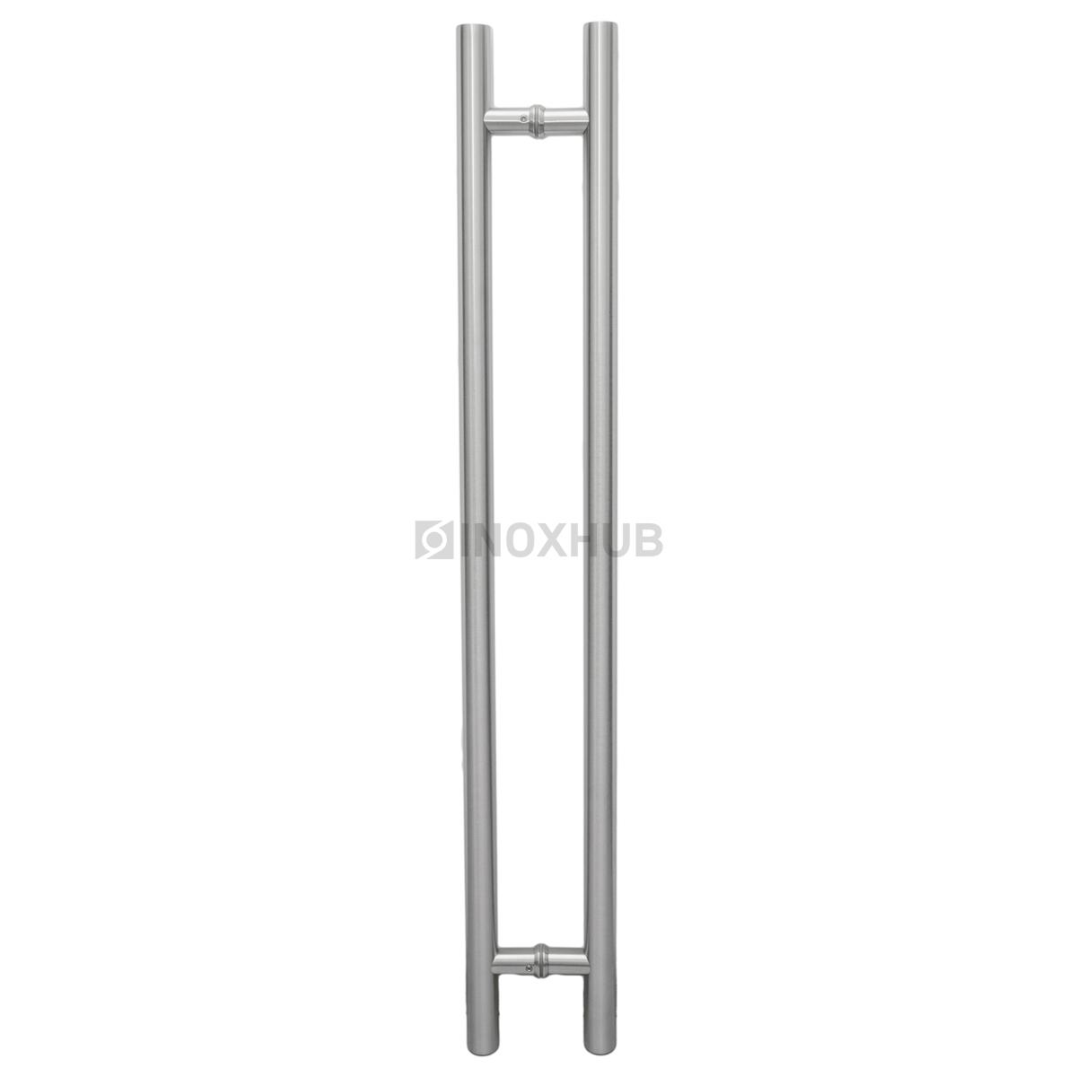 Ручка (633-1000 SSS) 32×825×1000 мм, для стекла 8-12 мм, нерж. сталь шлиф.
