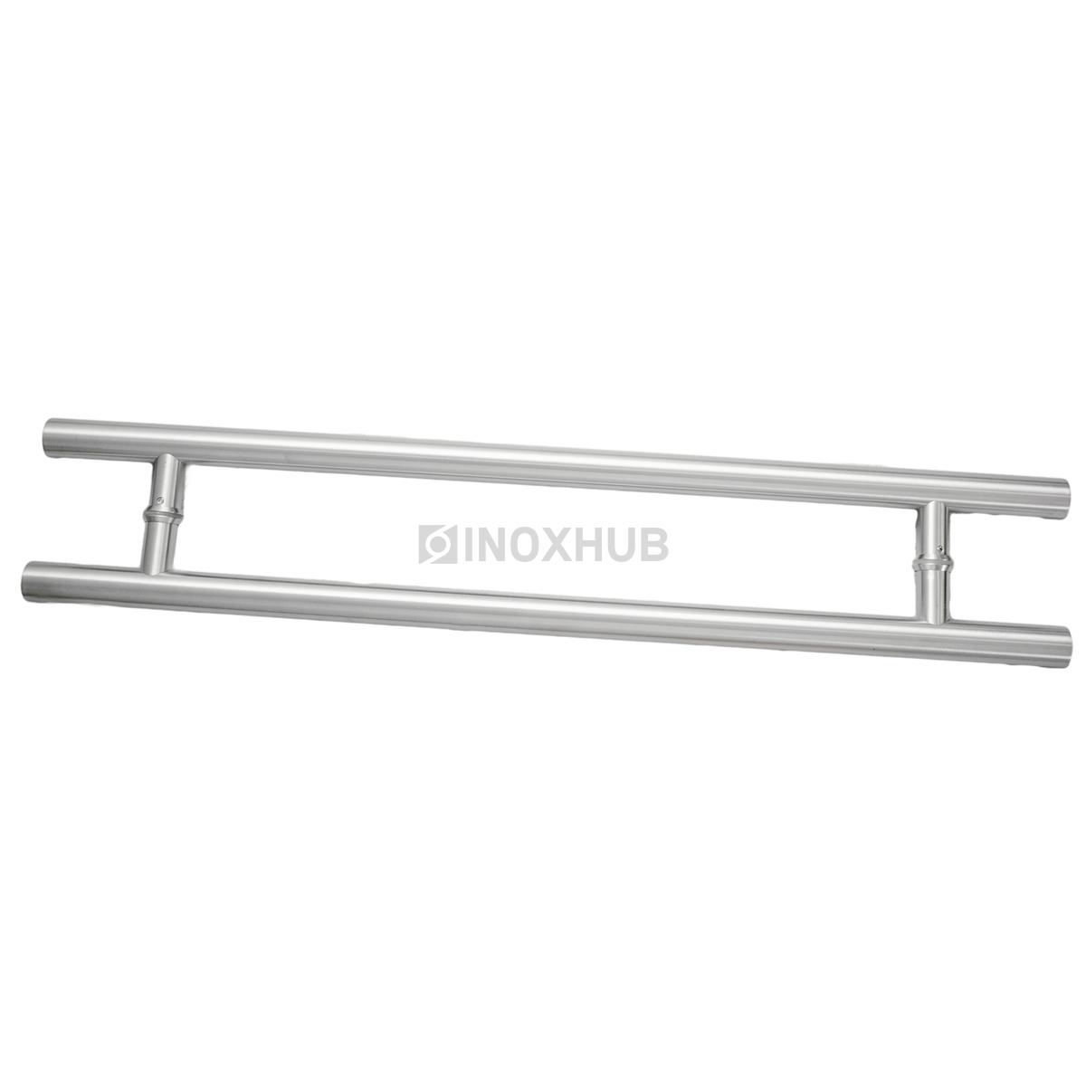 Ручка двусторонняя для стеклянных дверей, 633-800 SSS