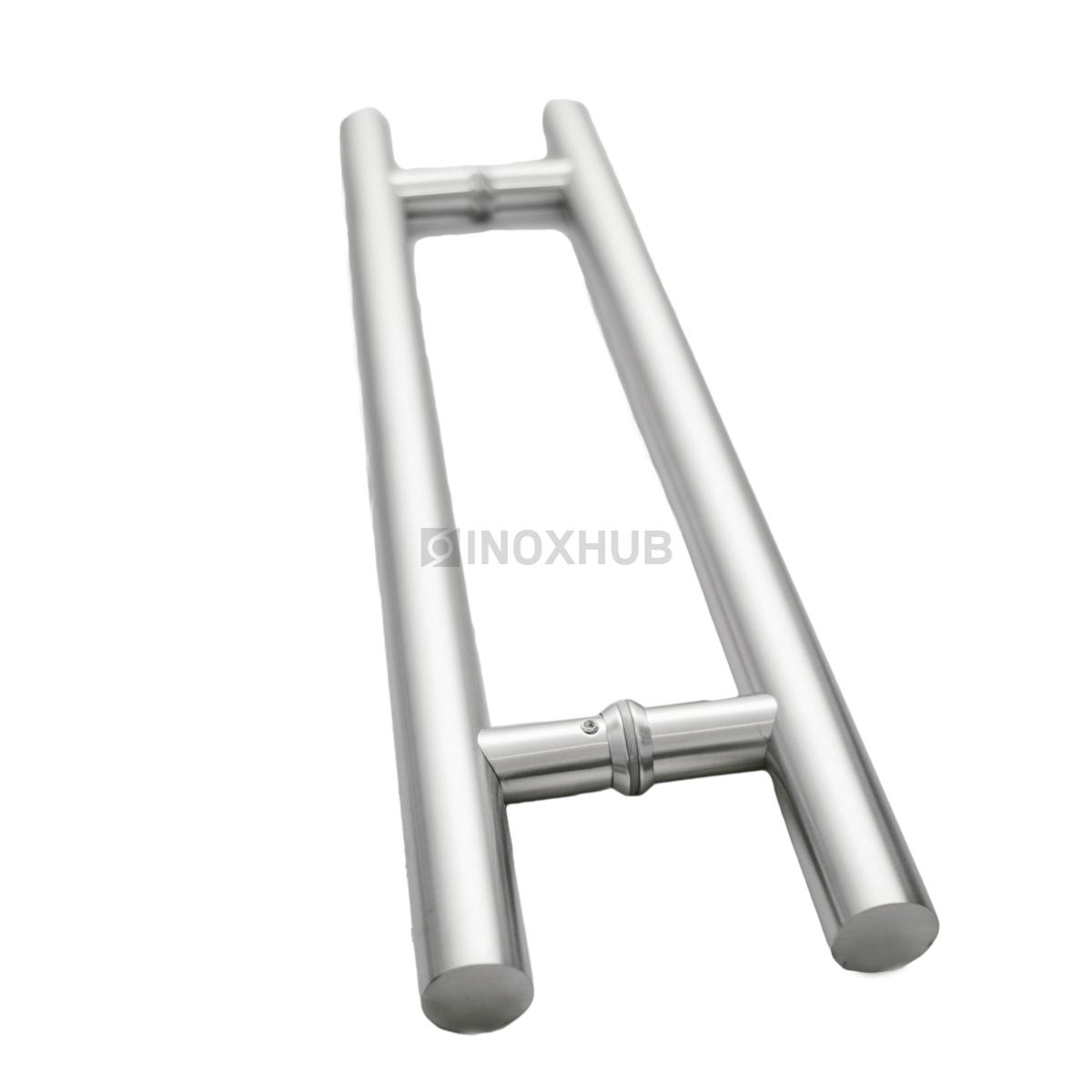 Ручка двусторонняя для стеклянных дверей, 633-600 SSS