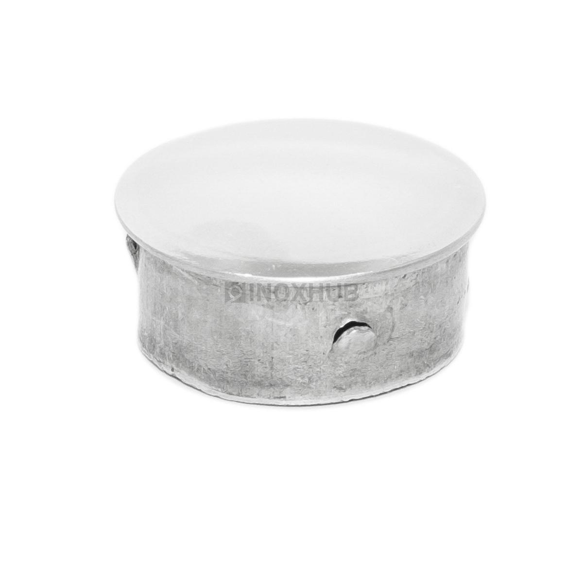 Заглушка забивная штамп., Ø25.4 мм, AISI 304, GRIT 600