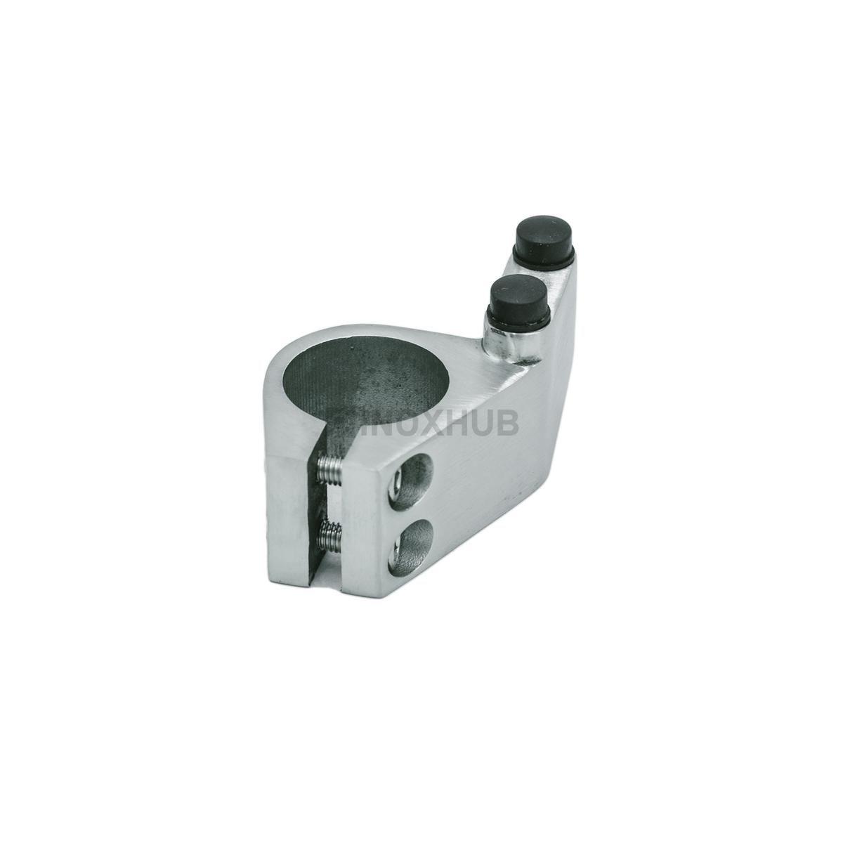 Комплект 2 шт стопоров (840 R+840 L SSS) левый+правый, трек Ø25 мм, нерж. сталь шлиф
