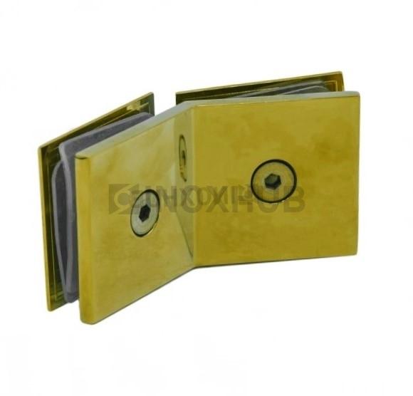 Коннектор (726 Gold) стекло-стекло 135°  под Золото