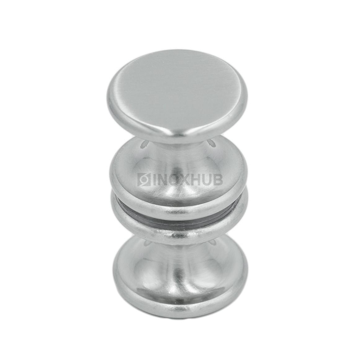 Кноб (691 SC) стекло 6.0-12.0 ммм хром матовый
