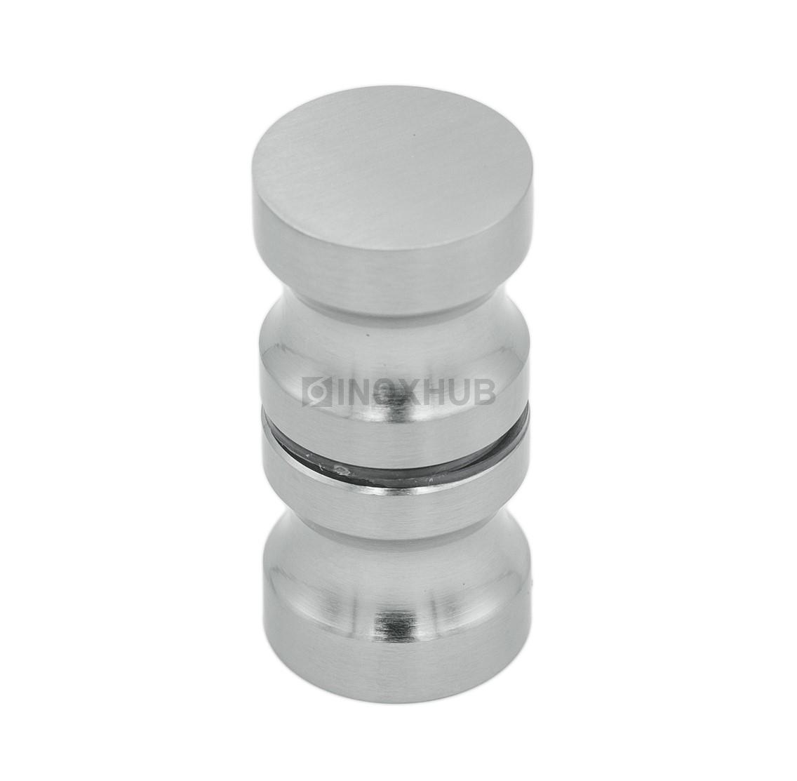 Кноб (692 SC)  стекло 6.0-12.0 мм хром матовый