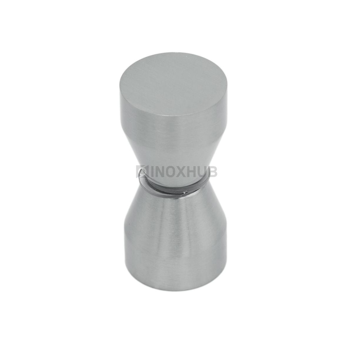 Кноб (693 SC)  стекло 6.0-12.0 мм хром матовый