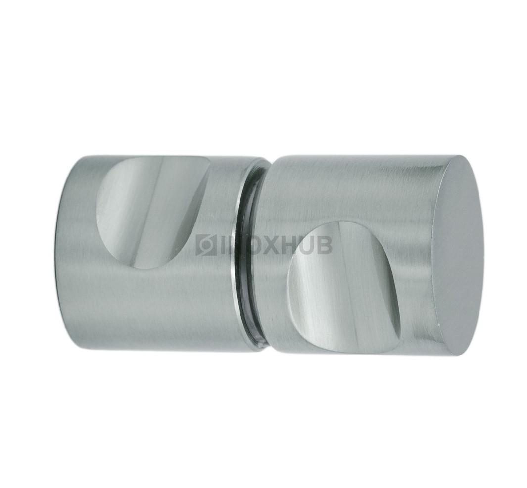 Кноб (696 SC) стекло 6.0-12.0 мм хром матовый