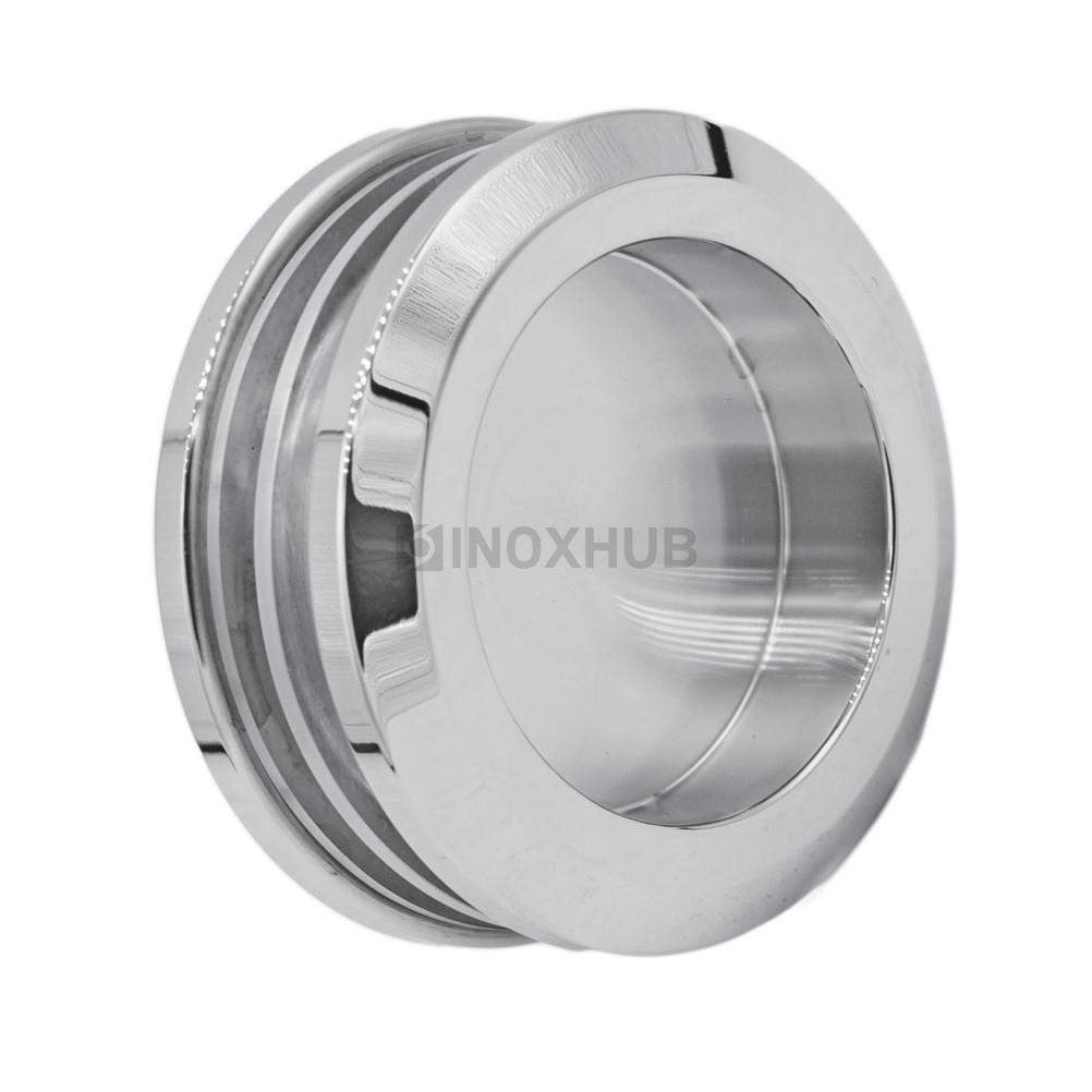 Ручка для раздвижной двери (065 SSS), стекло 8.0-12.0 мм, нерж. сталь матовая