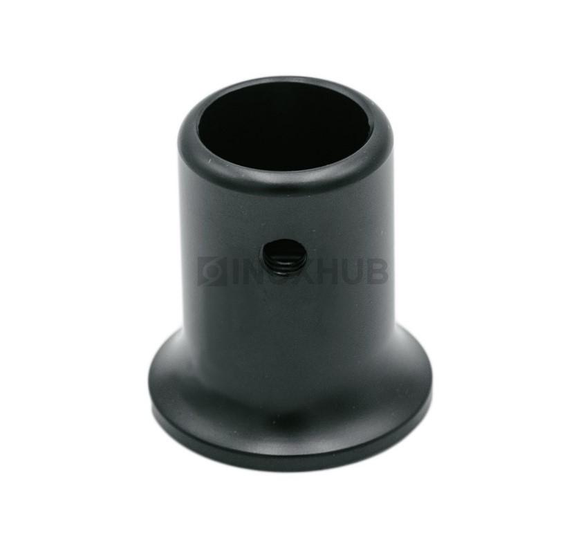 Держатель штанги (907 BLC) к стене штанга Ø19 мм Черный мат