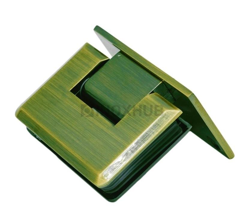 Петля (305 Bronze) стена-стекло одностороннее крепление  под Бронзу