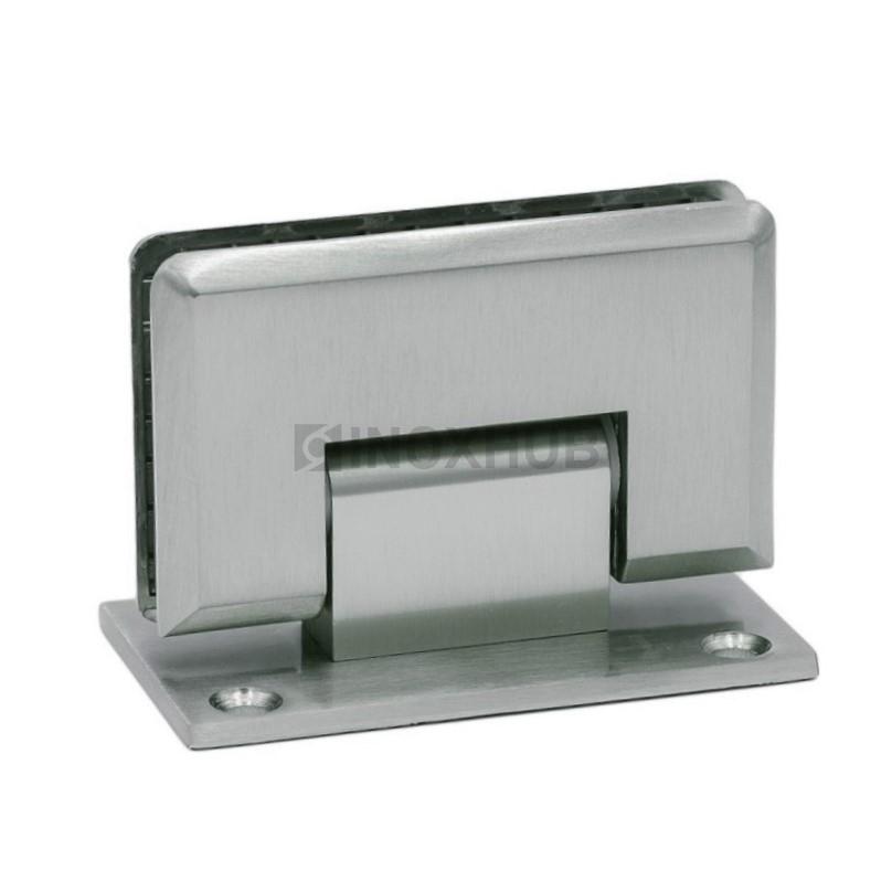 Петля (301 SC) стена-стекло двустороннее крепление  хром матовый