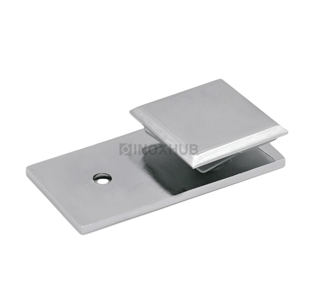 Коннектор. (723 PС ) стекло-стена хром полированный