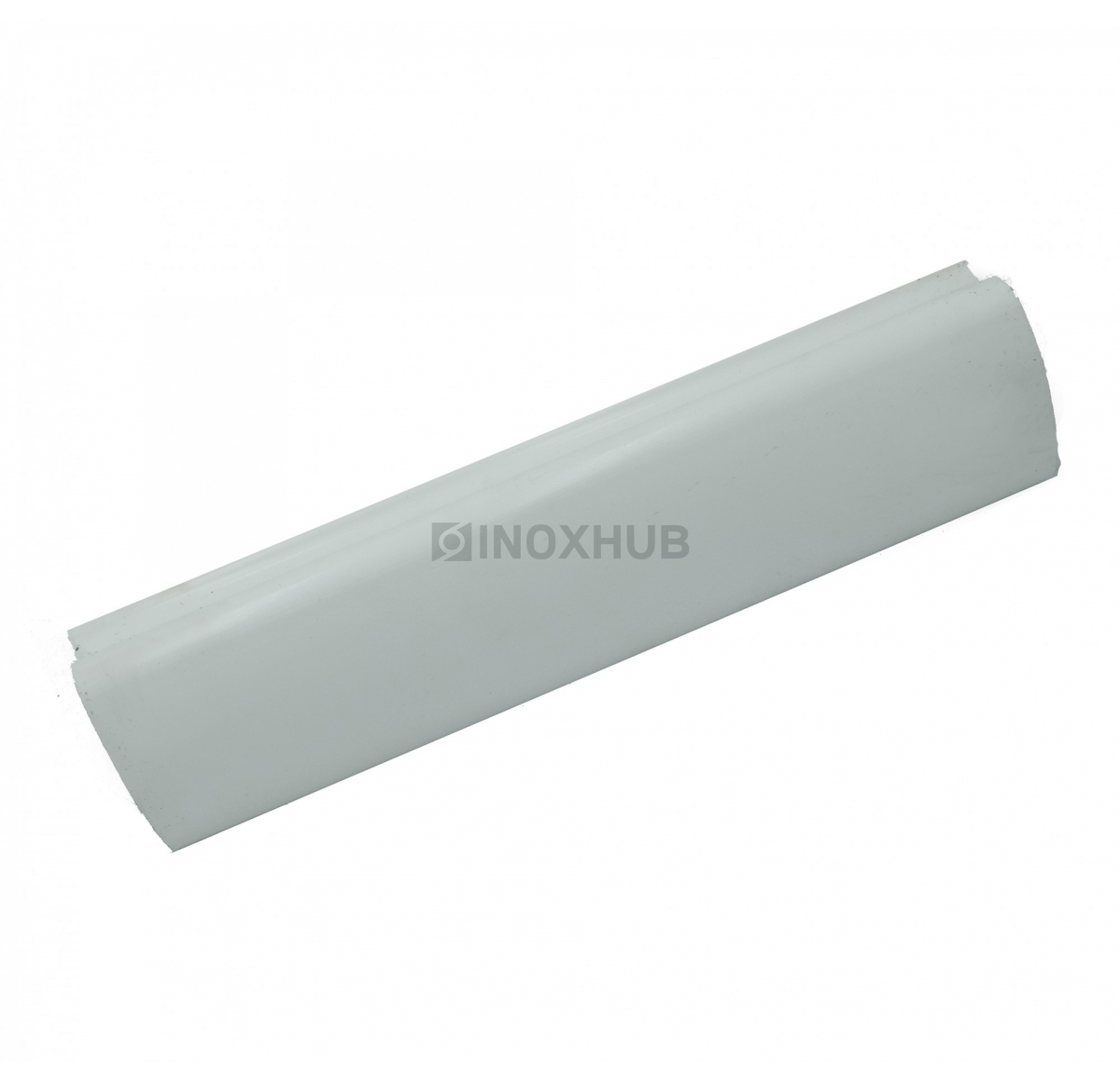 Пластиковый поручень фигурный цвет Белый 40.0x60.0x4000мм