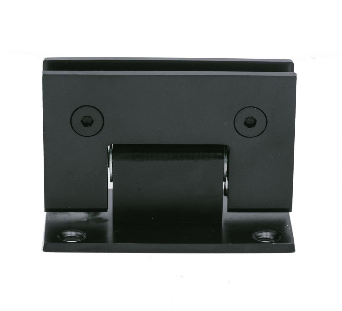 Петля (301 BLC) стена-стекло двустороннее крепление  Черный мат