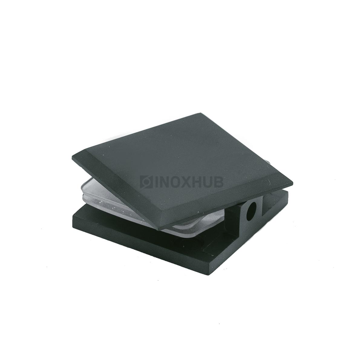 Коннектор (721 BLC) стекло-стена  Черный мат