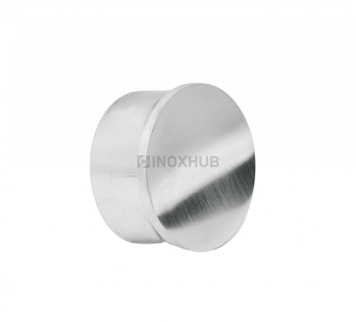 Заглушка для поручня с пазом  Ø48.3 мм AISI 304 GRIT 320