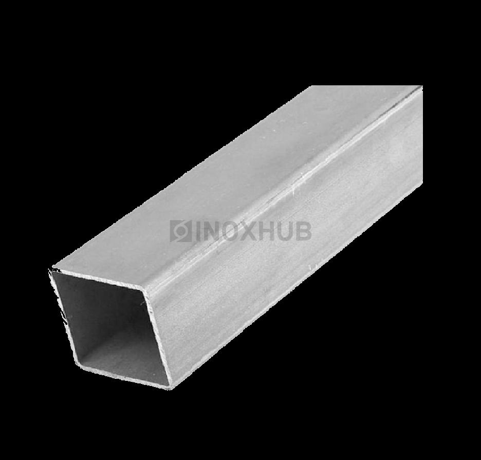 Профильная труба AISI 304  10×10×1.5×6000 мм GRIT 600