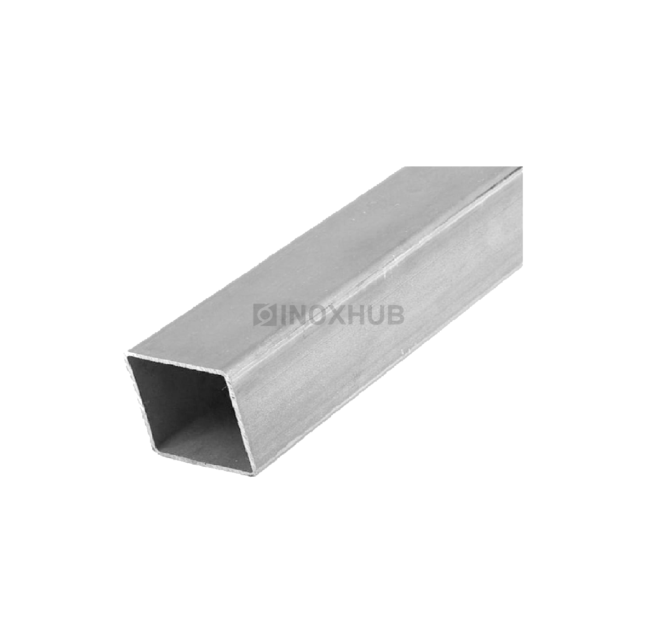 Профильная труба AISI 304 80×80×1.5×6000 мм GRIT 600